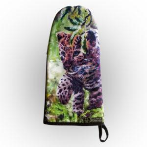 Pajakinnas Amuuri leopard / Oven glove Amur leopard