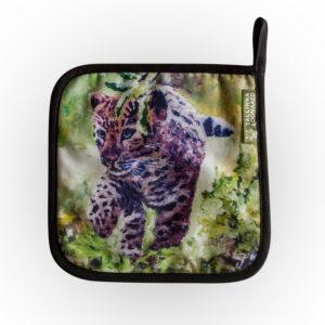 Pajalapp Amuuri leopard / Pot holder Amur leopard