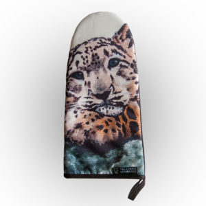 Pajakinnas Lumeleopard / Oven glove Snow Leopard